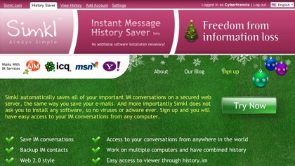 Simkl, registrando las conversaciones de los sistemas de mensajería