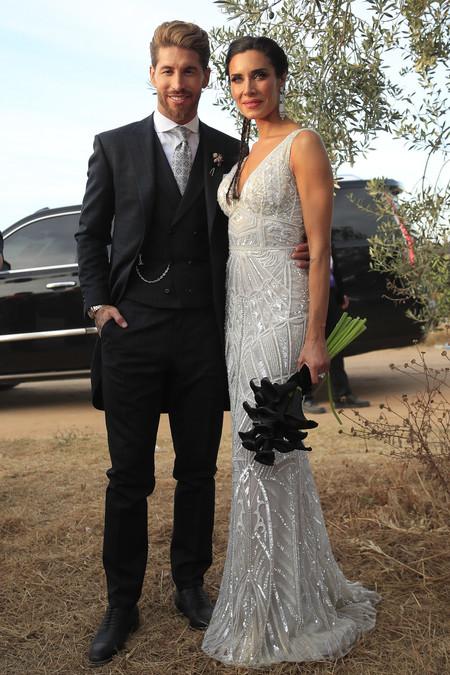 Vestido Pilar Rubio boda