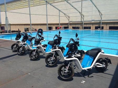 Los Campeonatos del Mundo de Natación Barcelona 2013 contarán con una flota de motos eléctricas CORE