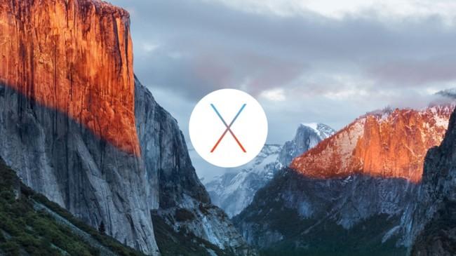 Os X El Capitan Mac