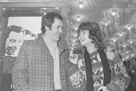 Bernardo Bertolucci y Maria Schneider