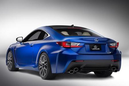 Lexus RC F, ahora en imágenes oficiales