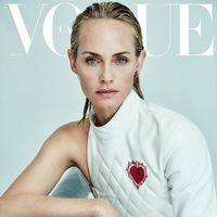 Vogue Ucrania: Amber Valletta