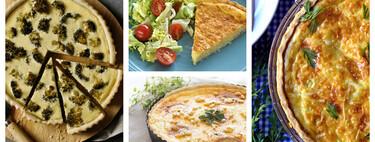 19 recetas de quiche para una cena sencilla, pero deliciosa