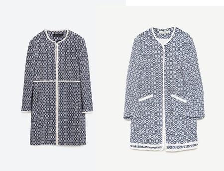 Comparativa Abrigo Viral Zara