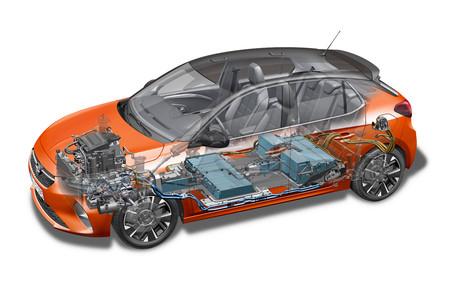 Opel Corsa-E baterías