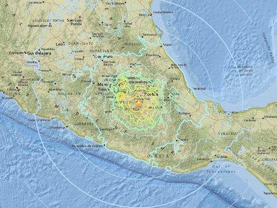 Así se vivió el nuevo terremoto de México, el que apunta a convertirse en el más devastador desde 1985