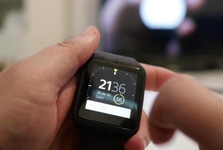 Interfaz Sony Smartwatch 3 análisis en Xataka