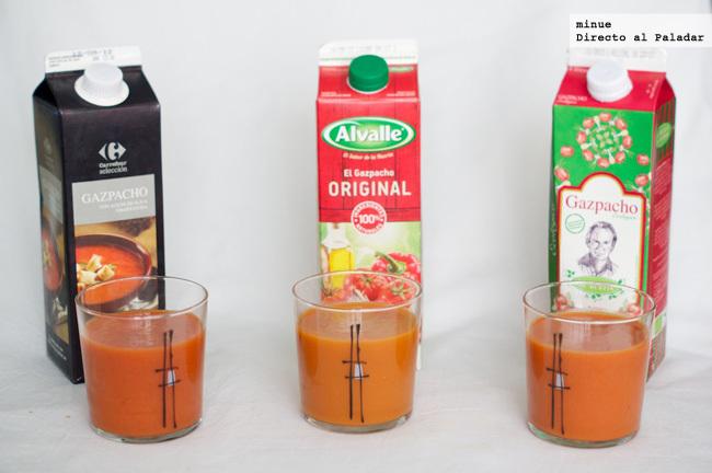 Comparativa de gazpachos envasados - 2