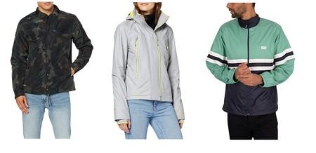 Chollos en tallas sueltas de chaquetas para hombre y mujer Levi's, Pepe Jeans o Superdry en Amazon