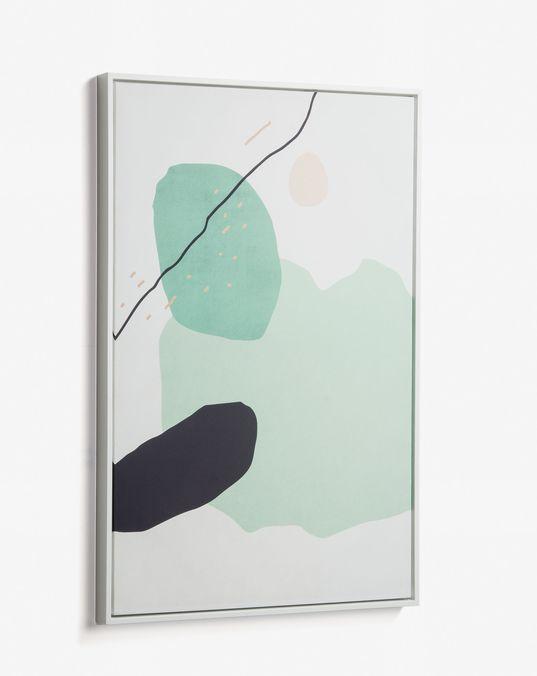 Cuadro Xooc 60 x 90 cm verde