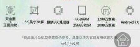 Huawei Mate 9 Filtracion