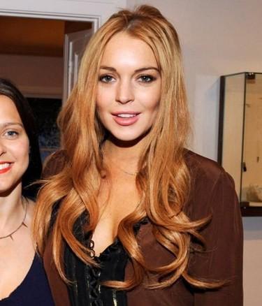Al final la cabra, digo Lindsay Lohan ¿¿siempre tira al monte??