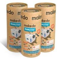 Makedo: kit para que el niño cree sus propios juguetes