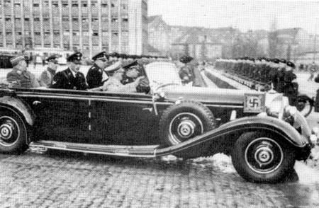 Coche Hitler Mercedes Benz 540k