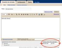 Blogger por fín permite programar entradas para su publicación