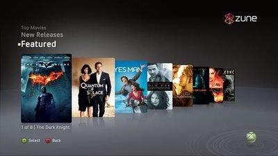 Zune nos trae las series de televisión a la Xbox 360 por streaming y por descarga