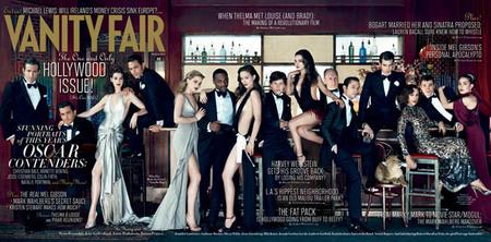 homenaje que ha rendido la revista Vanity Fair a los Oscar