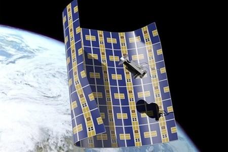 La solución al problema de los escombros espaciales: esta nave-lámina