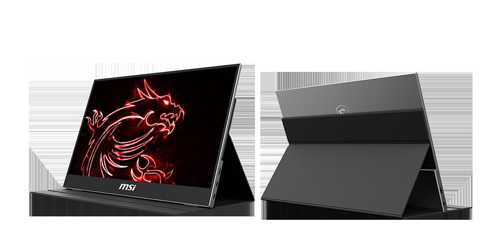 MSI presenta su nuevo monitor portátil Optix MAG161V, un modelo Full HD con panel IPS de 16 pulgadas