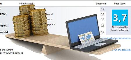 Evaluación de la experiencia en Windows, una buena ayuda en las compras