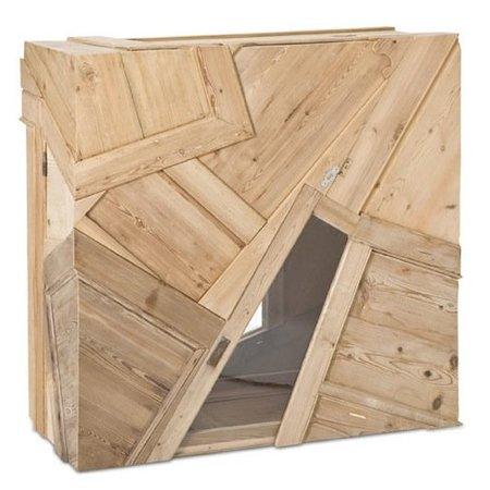 Recicladecoración: muebles reconstruidos de Chris Ruhe