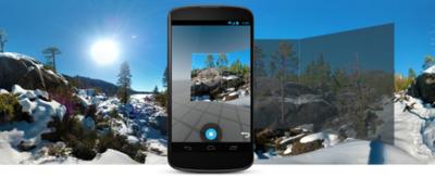 Android 4.4 permite crear imágenes panorámicas Photo Sphere con mayor calidad