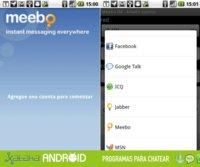 Especial programas para chatear: Meebo