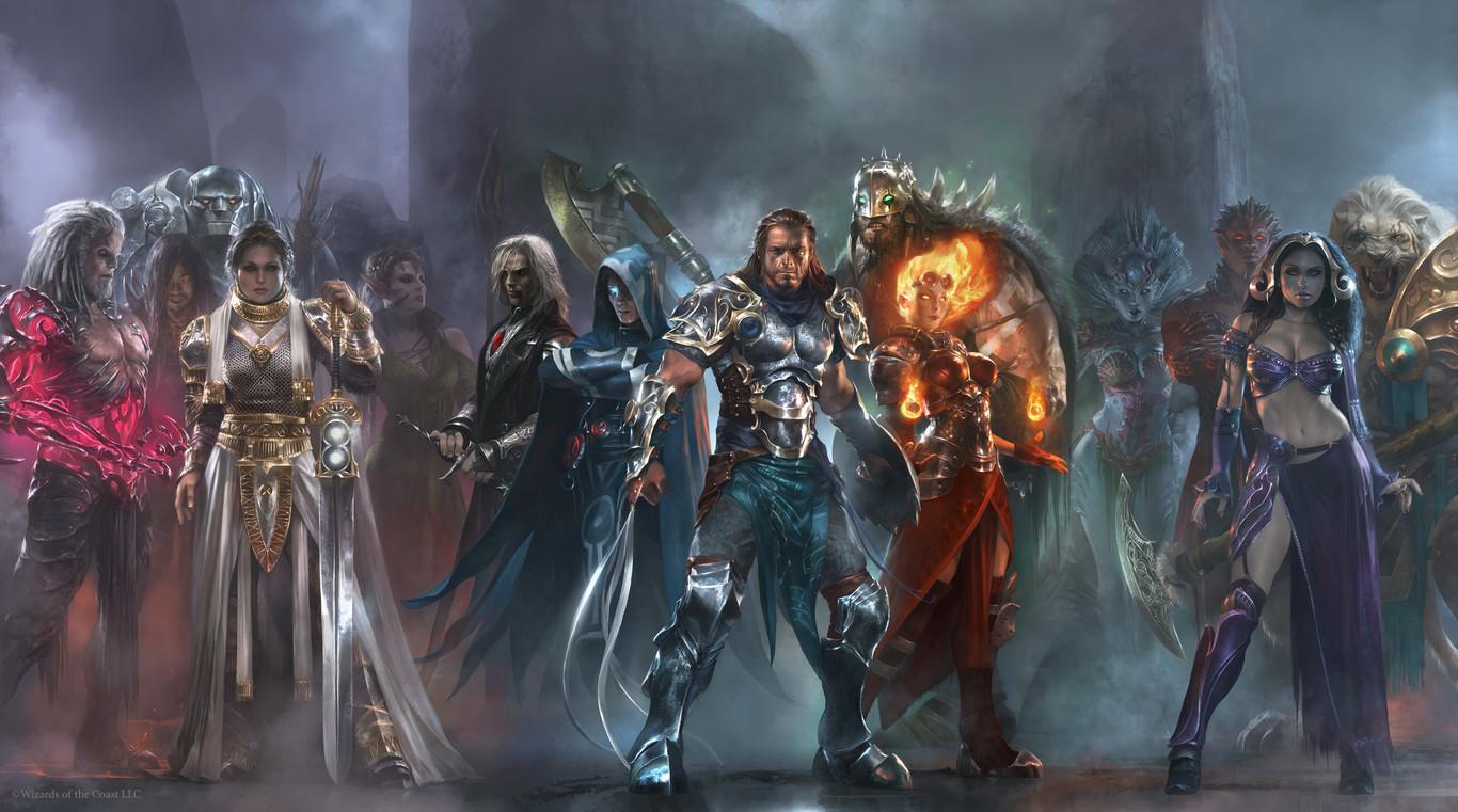 Yoshitaka Amano, artista de la saga Final Fantasy, fusiona su original estilo con Magic: The Gathering para...