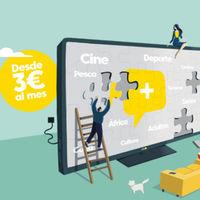 Ahí+ reduce su oferta televisión a tres paquetes desde 3 euros al mes: Base, Palomitas y Paquete Max