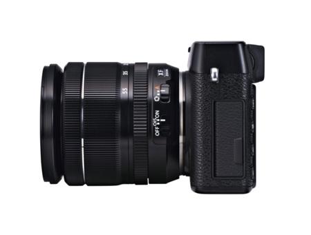 Fujifilm X-E1 de lado