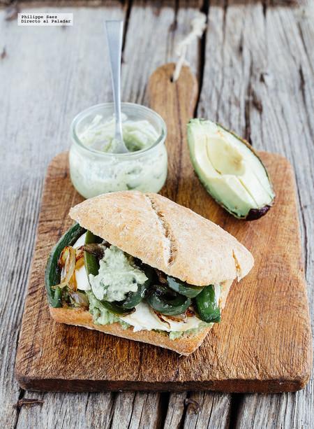 Sandwich Guacamole