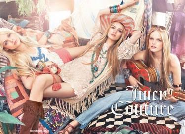 Campaña Juicy Couture Primavera-Verano 2011