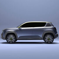 El Renault 4 eléctrico en homenaje al 4L se deja ver sin camuflaje antes de hora