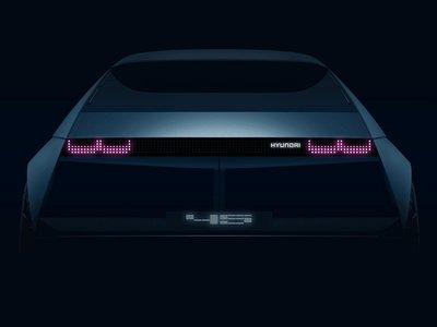 El Hyundai 45 Concept quiere revivir uno de los modelos más nostálgicos de la firma coreana