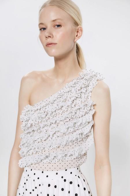 Tops Blusas Blancas Verano 2020 Sfera 10