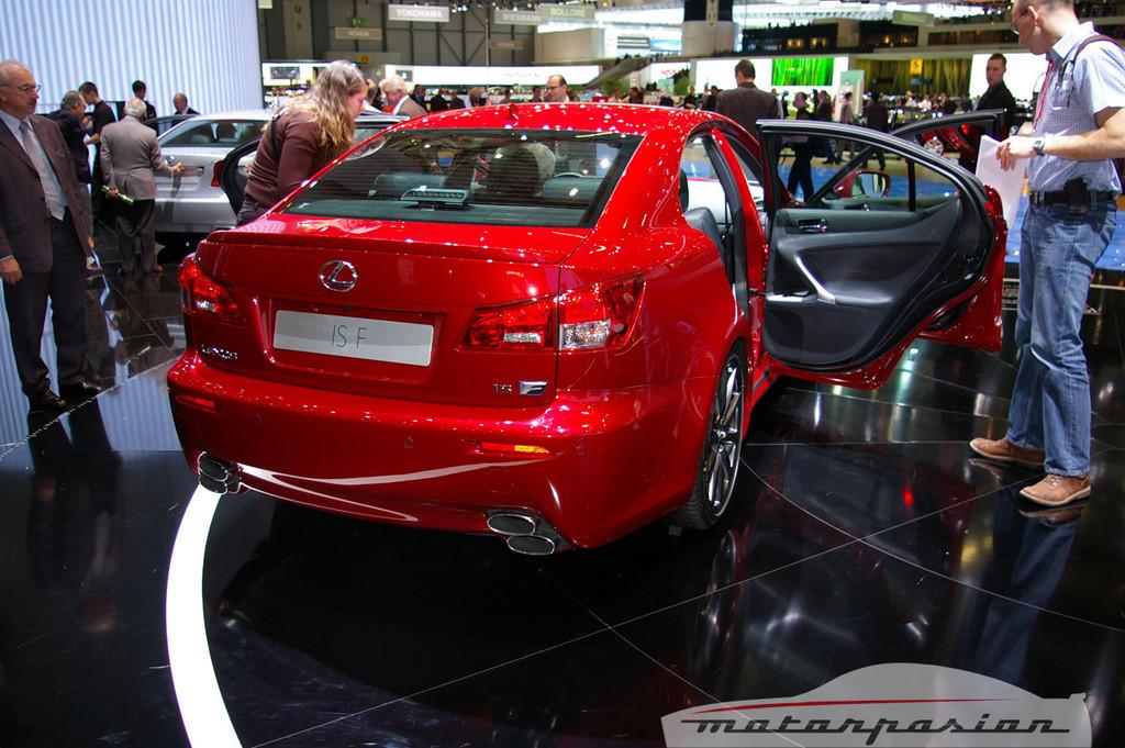 Foto de Lexus IS-F en el salón de Ginebra (6/10)
