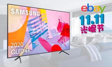 Por el Día del Soltero 2020 tienes en eBay las 65 pulgadas QLED de la Samsung QE65Q60T a su precio más bajo: sólo 879,99 euros