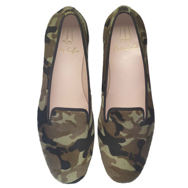 Slippers con un toque militar ¿Te atreves?