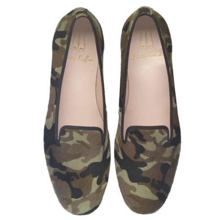 Slippers con un toque militar ¿Te atreves?