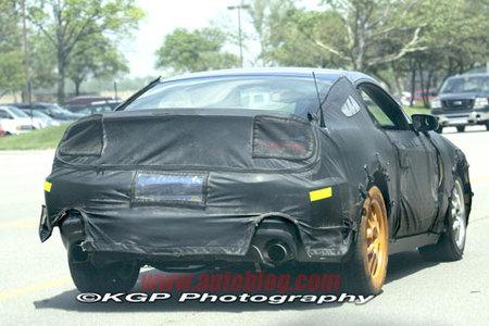 Fotos espía del nuevo Shelby Mustang GT500