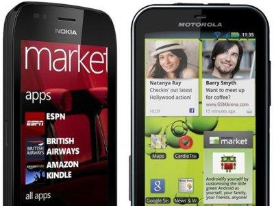 Precios del Nokia Lumia 710 y Motorola Defy+ con Vodafone