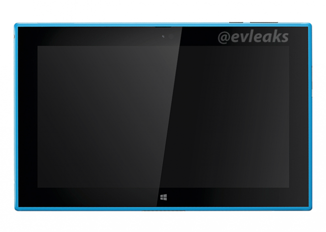 La tablet Nokia Lumia 2520 se deja ver en color cian