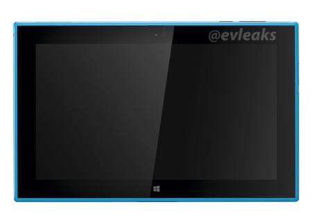 La tablet Nokia Lumia 2520 se deja ver en color cian