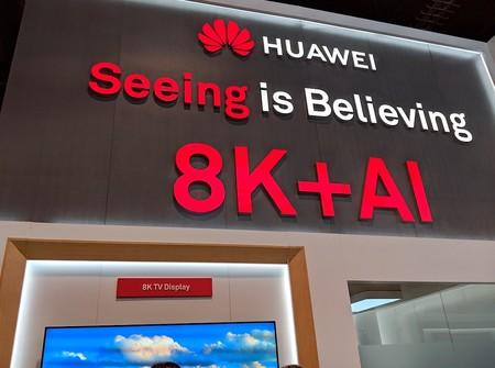 Huawei prepara el primer televisor 8K y 5G: un ambicioso producto para entrar en uno de los pocos sectores que les quedan