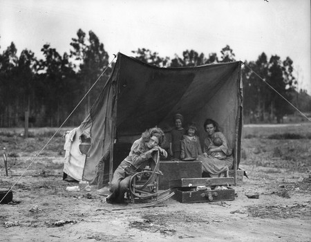 Dorothealange Migrant Mother 2