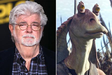 """""""Jar Jar es mi personaje favorito"""". George Lucas reivindica 'La amenaza fantasma' con motivo de su 20 aniversario"""