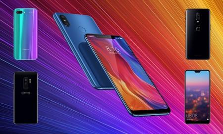 Xiaomi Mi 8, comparativa: así queda frente al OnePlus 6, Galaxy S9+, Huawei P20 Pro y los mejores gama alta del año
