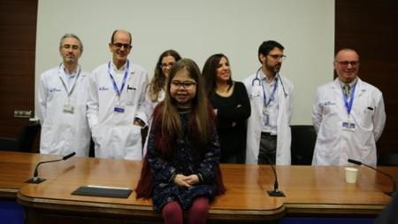 El primer triple trasplante pediátrico en España salva la vida a una niña de 10 años que sufre una rara enfermedad