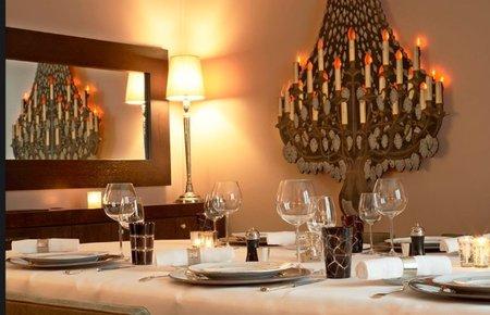 Cena de San Valentín de lujo en el restaurante Apicius de París